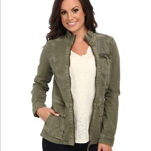Lucky Brand Caleigh Green Military Jacket